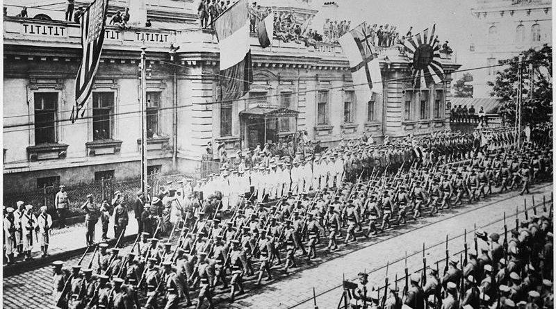 D'une guerre à l'autre: l'Intervention Alliée en Russie en 1918