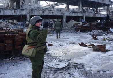 Reporter de guerre dans le Donbass