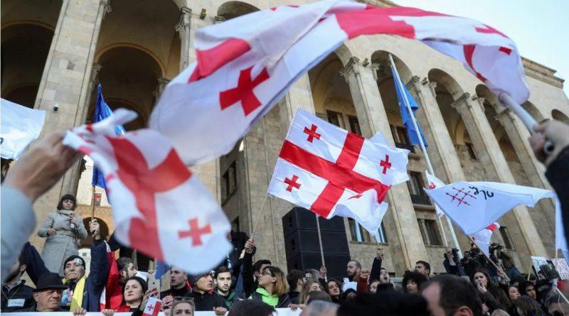 Manifestations en Géorgie